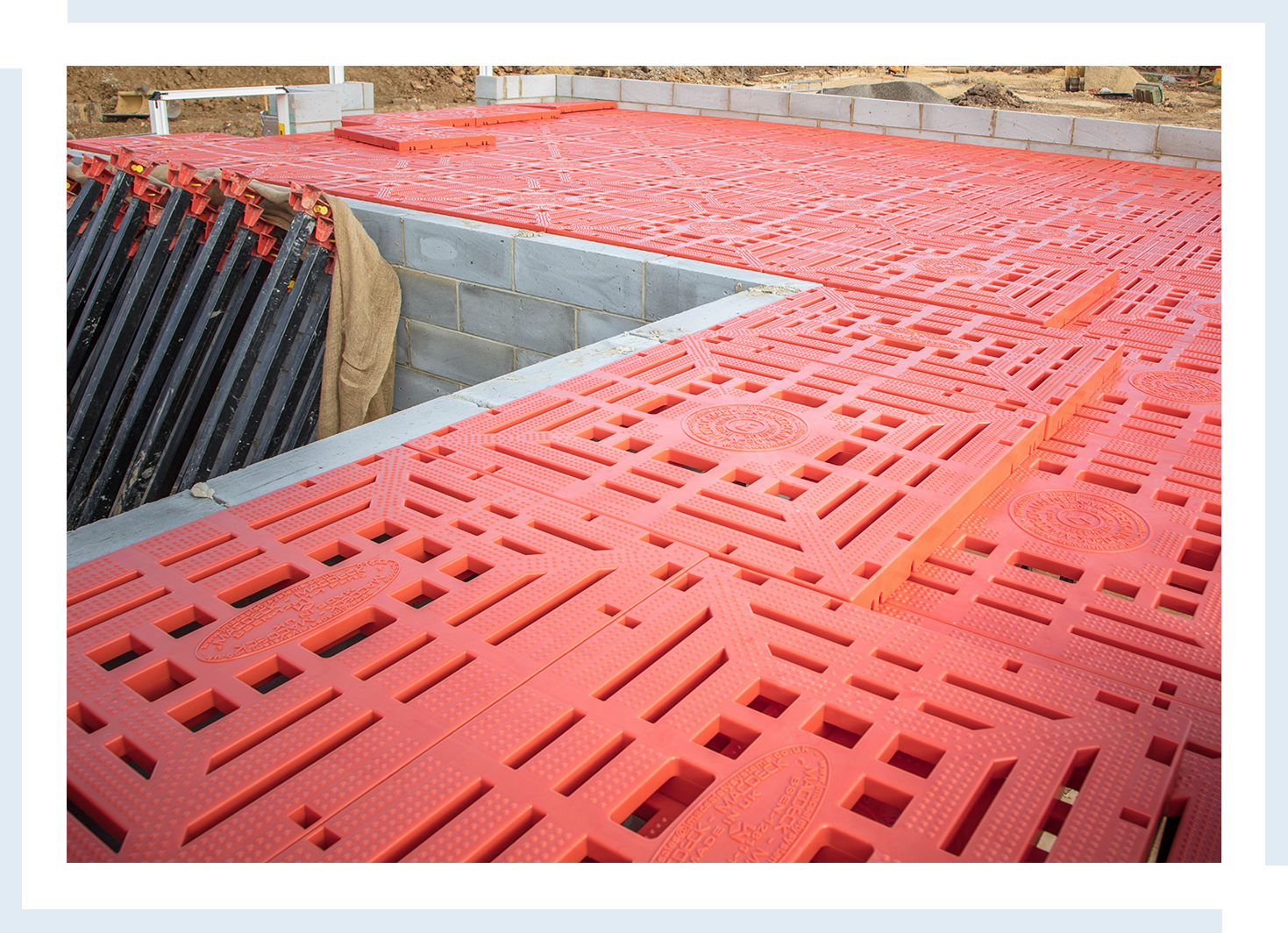 building site safety platforms isle of wight