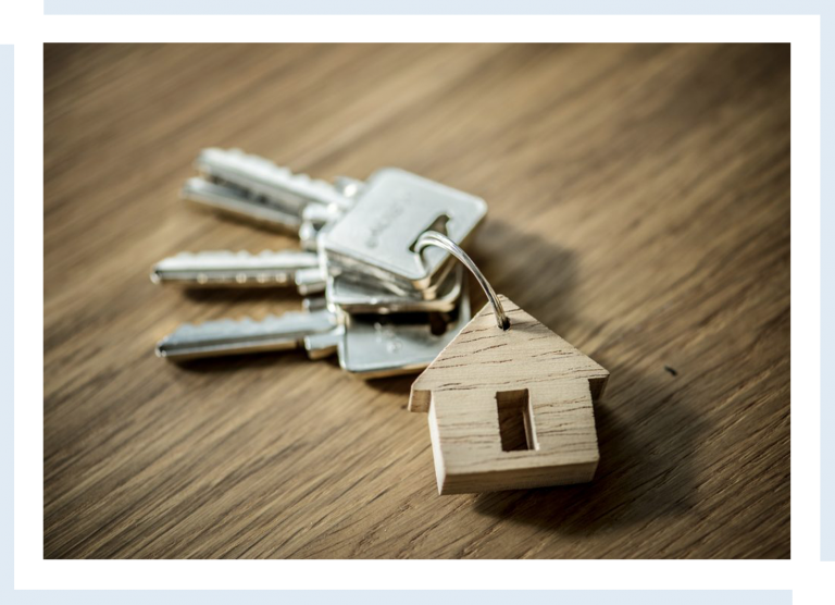 keys with a house keyring